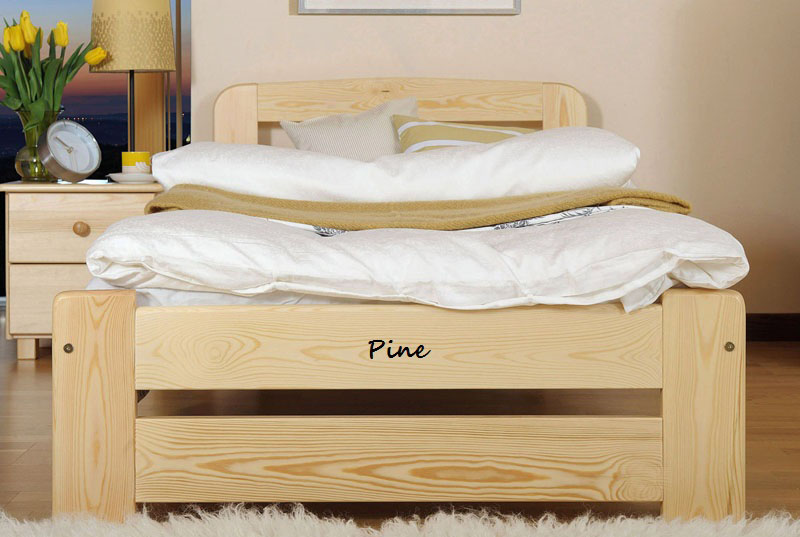 NODAX New Solid Wooden 100 Pine 6ft Super King Size Bedframe ONE